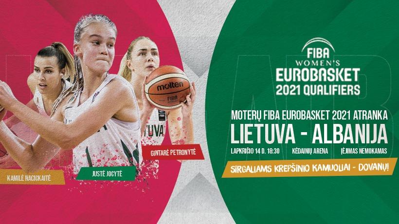 Europos čempionato atrankos rungtynės: Lietuva – Albanija