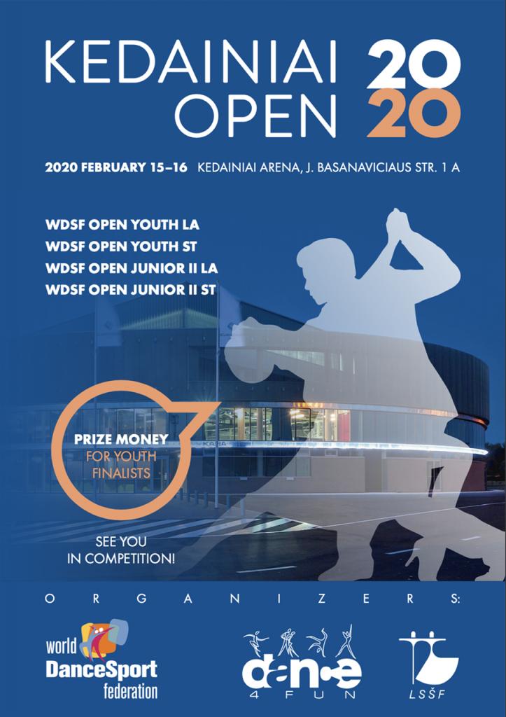 Tarptautinių šokių konkursas ,,Kėdainiai Open 2020″